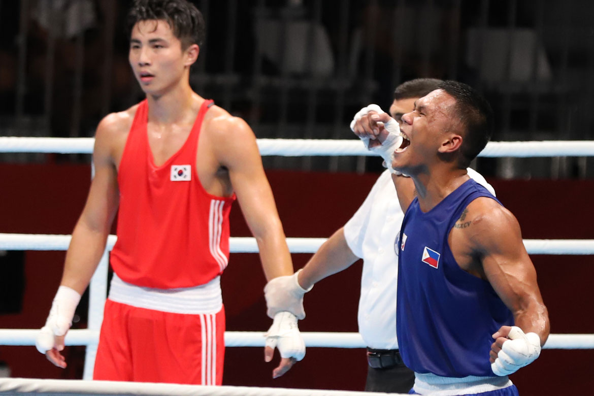 Tiebreaker Times Eumir Marcial guarantees 3rd medal for Boxing team Boxing News  Eumir Marcial 2018 Asian Games-Boxing 2018 Asian Games