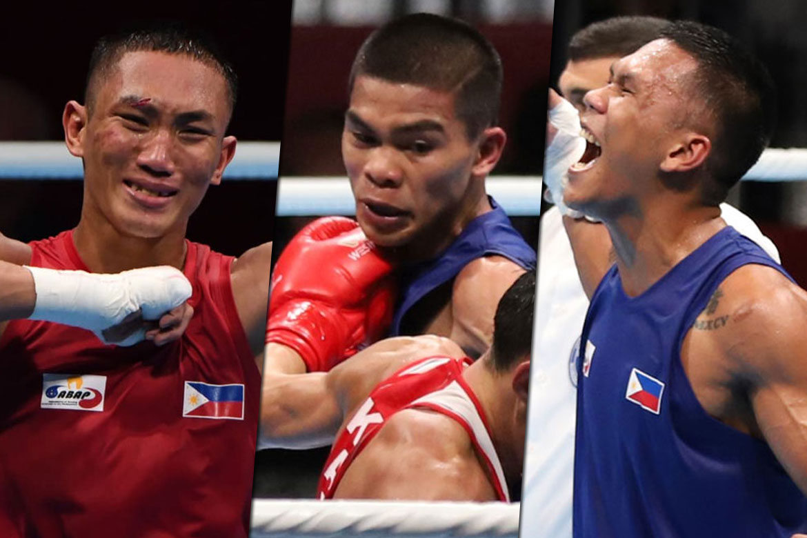 Tiebreaker Times Boxing's last three look to overcome the odds Boxing News  Rogen Ladon Eumir Marcial Ed Picson carlo paalam Amateur Boxing Association of the Philippines 2018 Asian Games-Boxing 2018 Asian Games
