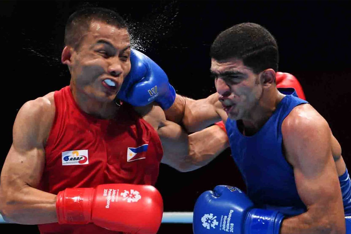 Tiebreaker Times Mario Fernandez dealt scary KO loss Boxing News  Mario Fernandez 2018 Asian Games-Boxing 2018 Asian Games