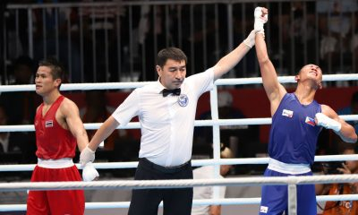 Tiebreaker Times Rogen Ladon advances to Men's Flyweight finale Boxing News  Rogen Ladon 2018 Asian Games-Boxing 2018 Asian Games