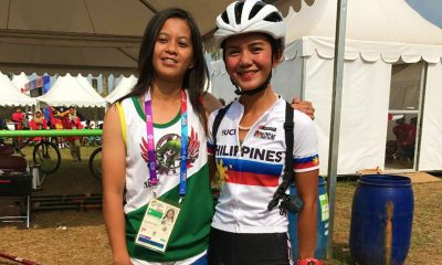 Tiebreaker Times Bikes reach Jerich Farr, Leah Belgira on time Cycling News  Leah Belgira Jerich Farr Integrated Cycling Federation of the Philippines 2018 Asian Games-Cycling 2018 Asian Games