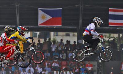 Tiebreaker Times Daniel Caluag drops to bronze Cycling News  Sienna Fines Daniel Caluag 2018 Asian Games-Cycling 2018 Asian Games