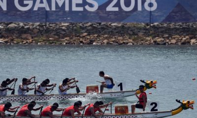 Tiebreaker Times Men's Dragon Boat team finds consolation Canoeing News  Philippine Canoe Kayak Dragon Boat Federation Lenlen Escollante 2018 Asian Games-Canoeing 2018 Asian Games