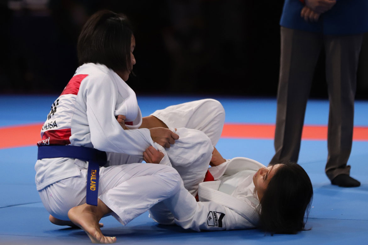 Tiebreaker Times Meggie Ochoa brings home Philippines' sixth bronze Brazilian Jiu Jitsu News  Meggie Ochoa Kaila Napoles 2018 Asian Games-Jiujitsu 2018 Asian Games