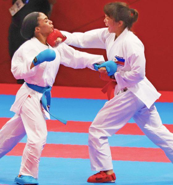 Tiebreaker Times Two Filipina martial artists bag bronze Karate News Pencak Silat  Junna Tsukii Cherry May Regalado 2018 Asian Games-Pencak Silat 2018 Asian Games-Karate 2018 Asian Games
