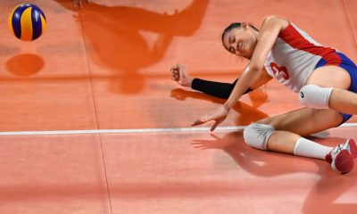 Tiebreaker Times Philippines falls to Kazakhstan in thriller News Volleyball  Philippine Women's National Volleyball Team Mylene Paat Kazakhstan (Volleyball) Jia Morado Jaja Santiago Denden Lazaro Alyssa Valdez 2018 Asian Games-Volleyball 2018 Asian Games