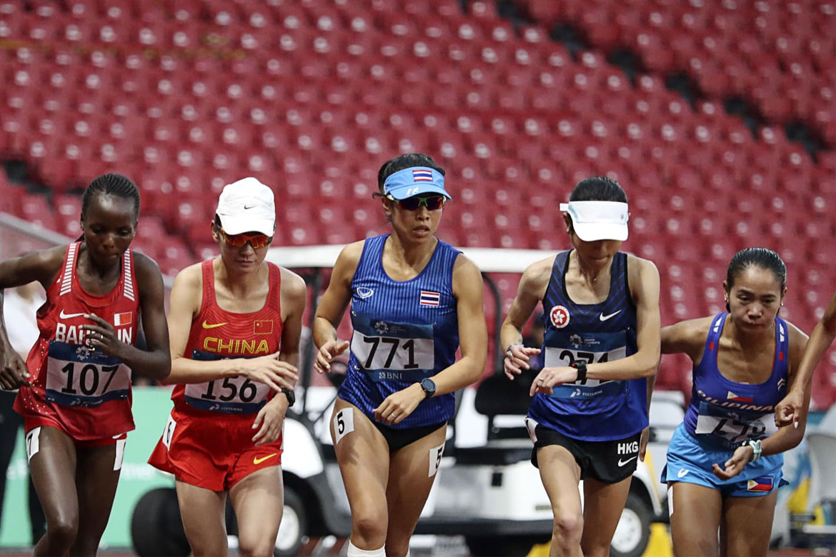 Tiebreaker Times Mary Joy Tabal finishes 11th, fastest among SEA neighbors News Track & Field  Mary Joy Tabal 2018 Asian Games-Athletics 2018 Asian Games