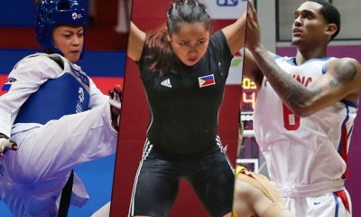 Tiebreaker Times SMART lauds SBP, PTA, SWP for performing in Asiad Basketball News Taekwondo Weightlifting  Samahang Weightlifting ng Pilipinas Samahang Basketbol ng Pilipinas Rodolfo Reyes Rinna Babanto Philippine Taekwondo Association Pauline Lopez Juvenile Faye Crisostomo Jordan Clarkson Jeordan Dominguez Janna Oliva Hidilyn Diaz Dustin Mella 2018 Asian Games