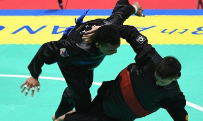 Tiebreaker Times Dines Dumaan, Jefferson Loon off to dominant starts in Pencak Silat News Pencak Silat  Jefferson Loon Dines Dumaan 2018 Asian Games-Pencak Silat 2018 Asian Games