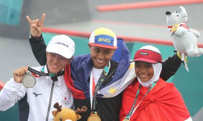 Tiebreaker Times After dominating Palembang, Margie Didal hopes to end up in Tokyo News Skateboarding  Margielyn Didal 2018 Asian Games-Skateboarding 2018 Asian Games