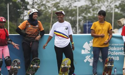 Tiebreaker Times Margie Didal hopes skateboarding gold changes the game: 'Sana huwag na tayong hulihin sa daan' News Skateboarding  Skateboarding and Roller Sports Association of the Philippines Inc Monty Mendigoria Margielyn Didal Daniel Bautista 2018 Asian Games-Skateboarding 2018 Asian Games
