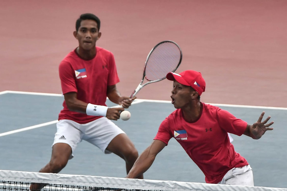 Tiebreaker Times Soft Tennis Men's Team advances to QF News Tennis  Noel Damian Jr. Mark Anthony Alcoseba Joseph Arcilla 2018 Asian Games-Tennis 2018 Asian Games