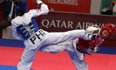Tiebreaker Times Pauline Lopez settles for bronze News Taekwondo  Pauline Lopez 2018 Asian Games-Taekwondo 2018 Asian Games