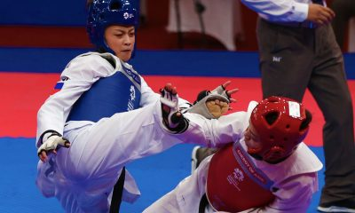 Tiebreaker Times Pauline Lopez advances to semifinals, assured of podium finish News Taekwondo  Pauline Lopez 2018 Asian Games-Taekwondo 2018 Asian Games