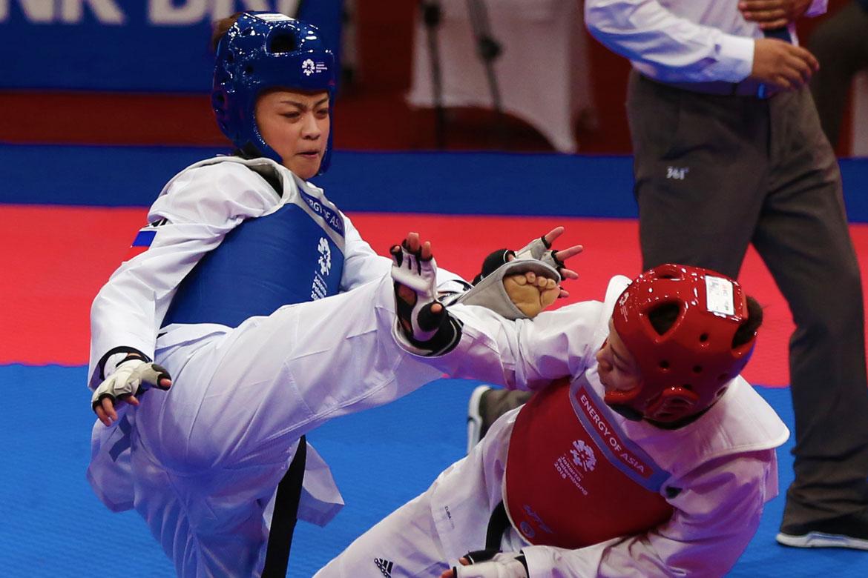 Tiebreaker Times Pauline Lopez advances to semifinals, assured of podium finish News Taekwondo  Pauline Lopez 2018 Asian Games-Taekwondo 2018 Asian Games