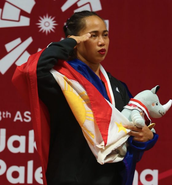 Tiebreaker Times Hidilyn Diaz now believes that an Olympic gold is possible News Weightlifting  Tony Agustin Hidilyn Diaz 2018 Asian Games-Weightlifting 2018 Asian Games