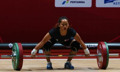 Tiebreaker Times Hidilyn Diaz can finally rest News Weightlifting  Hidilyn Diaz 2018 Asian Games-Weightlifting 2018 Asian Games
