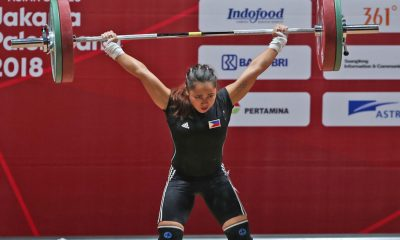Tiebreaker Times Hidilyn Diaz plans to go up in weight entering Tokyo Games News Weightlifting  Hidilyn Diaz 2018 Asian Games-Weightlifting 2018 Asian Games
