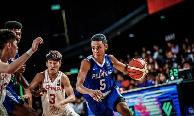 Tiebreaker Times Batang Gilas finally overcome China, earns outright QF ticket Basketball Gilas Pilipinas News  Josh Reyes Dave Ildefonso Dalph Panopio China (Basketball) AJ Edu 2018 FIBA Under-18 Asian Championship