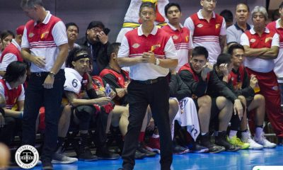 Tiebreaker Times Leo Austria to Caloy Garcia: 'I'm proud of you' Basketball News PBA  San Miguel Beermen Rain or Shine Elasto Painters PBA Season 44 Leo Austria Caloy Garcia 2019 PBA Commissioners Cup