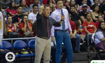 Tiebreaker Times Tim Cone deflects credit to Del Rosario, deputies as Ginebra recovers Basketball News PBA  Tim Cone Richard del Rosario PBA Season 44 Barangay Ginebra San Miguel 2019 PBA Commissioners Cup