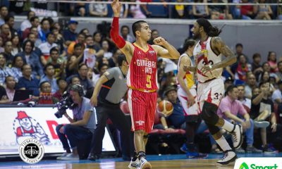 Tiebreaker Times Given San Miguel's history, LA Tenorio remains wary of Beermen Basketball News PBA  San Miguel Beermen PBA Season 43 LA Tenorio 2018 PBA Commissioners Cup