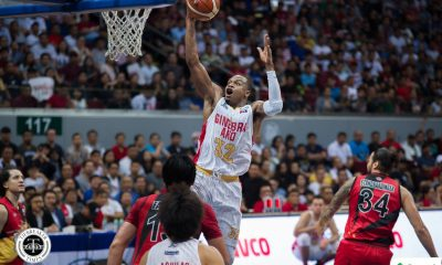 Tiebreaker Times Justin Brownlee hopes he could forever play for Ginebra Basketball News PBA  PBA Season 43 Justin Brownlee Barangay Ginebra San Miguel 2018 PBA Commissioners Cup