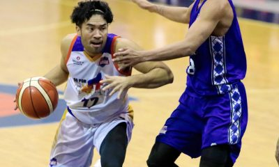Tiebreaker Times Gab Banal torches Che'Lu as Go for Gold levels series Basketball News PBA D-League  Stevenson Tiu Kris Porter Jeff Viernes Jason Melano Go-for-Gold Scratchers Gab Banal Che'Lu Revellers Charles Tiu 2018 PBA D-League Season 2018 PBA D-League Foundation Cup