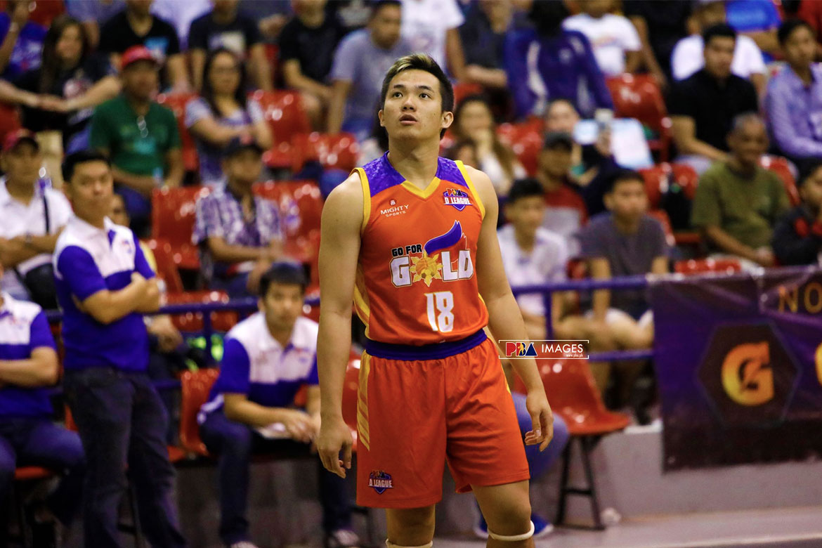 Tiebreaker Times Pumped up by his first Finals stint, Paul Desiderio shows up big Basketball News PBA D-League  Paul Desiderio Go-for-Gold Scratchers 2018 PBA D-League Season 2018 PBA D-League Foundation Cup