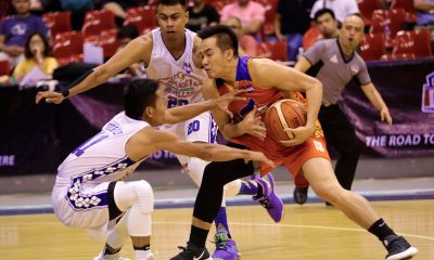 Tiebreaker Times Paul Desiderio sinks game-winner, lifts Go for Gold past Che'Lu to take series lead Basketball News PBA D-League  Stevenson Tiu Paul Desiderio Levi Hernandez Jeff Viernes Go-for-Gold Scratchers Gab Banal Chris Bitoon Che'Lu Revellers Charles Tiu 2018 PBA D-League Season 2018 PBA D-League Foundation Cup