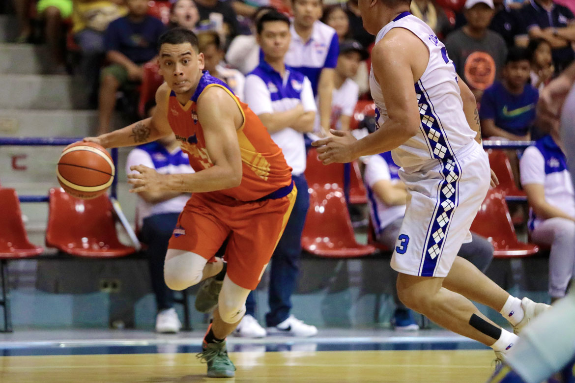 Tiebreaker Times After winning UAAP, D-League crowns, Vince Tolentino now eyeing PBA championship Basketball News PBA D-League  Vince Tolentino Go-for-Gold Scratchers 2018 PBA D-League Season 2018 PBA D-League Foundation Cup