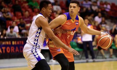 Tiebreaker Times Matt Salem hopes to have shared Go for Gold moment with J-jay Alejandro Basketball News PBA D-League  Matt Salem Go-for-Gold Scratchers 2018 PBA D-League Season 2018 PBA D-League Foundation Cup