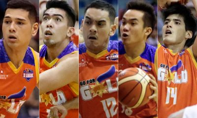 Tiebreaker Times Go for Gold's young guns shift sight to PBA Draft Basketball News PBA D-League  Vince Tolentino Ron Dennison Paul Desiderio Matt Salem Kris Porter Go-for-Gold Scratchers 2018 PBA Draft