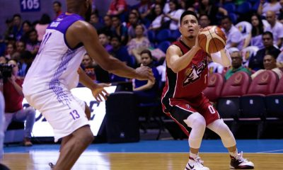 Tiebreaker Times Simon Enciso knocks down 9 triples as near-perfect Alaska sends TNT to 2nd straight loss Basketball News PBA  Vic Manuel Troy Rosario TNT Katropa Stacy Davis Simon Enciso PBA Season 43 Nash Racela Mike Harris Jayson Castro Chris Banchero Alex Compton Alaska Aces 2018 PBA Governors Cup