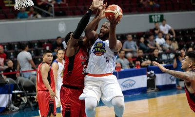 Tiebreaker Times Nash Racela, Stacy Davis looking at positives of first game together Basketball News PBA  TNT Katropa Stacy Davis PBA Season 43 Nash Racela 2018 PBA Governors Cup