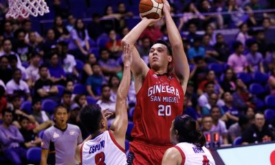 Tiebreaker Times It's all about waiting for a call now, says possible Gilas addition Greg Slaughter Basketball Gilas Pilipinas News PBA  PBA Season 43 Greg Slaughter Gilas Elite Barangay Ginebra San Miguel 2019 FIBA World Cup Qualifiers 2018 PBA Governors Cup