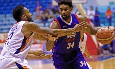 Tiebreaker Times Impressive Akeem Wright frustrated with missed opportunities in debut Basketball News PBA  PBA Season 43 Columbian Dyip Akeem Wright 2018 PBA Governors Cup
