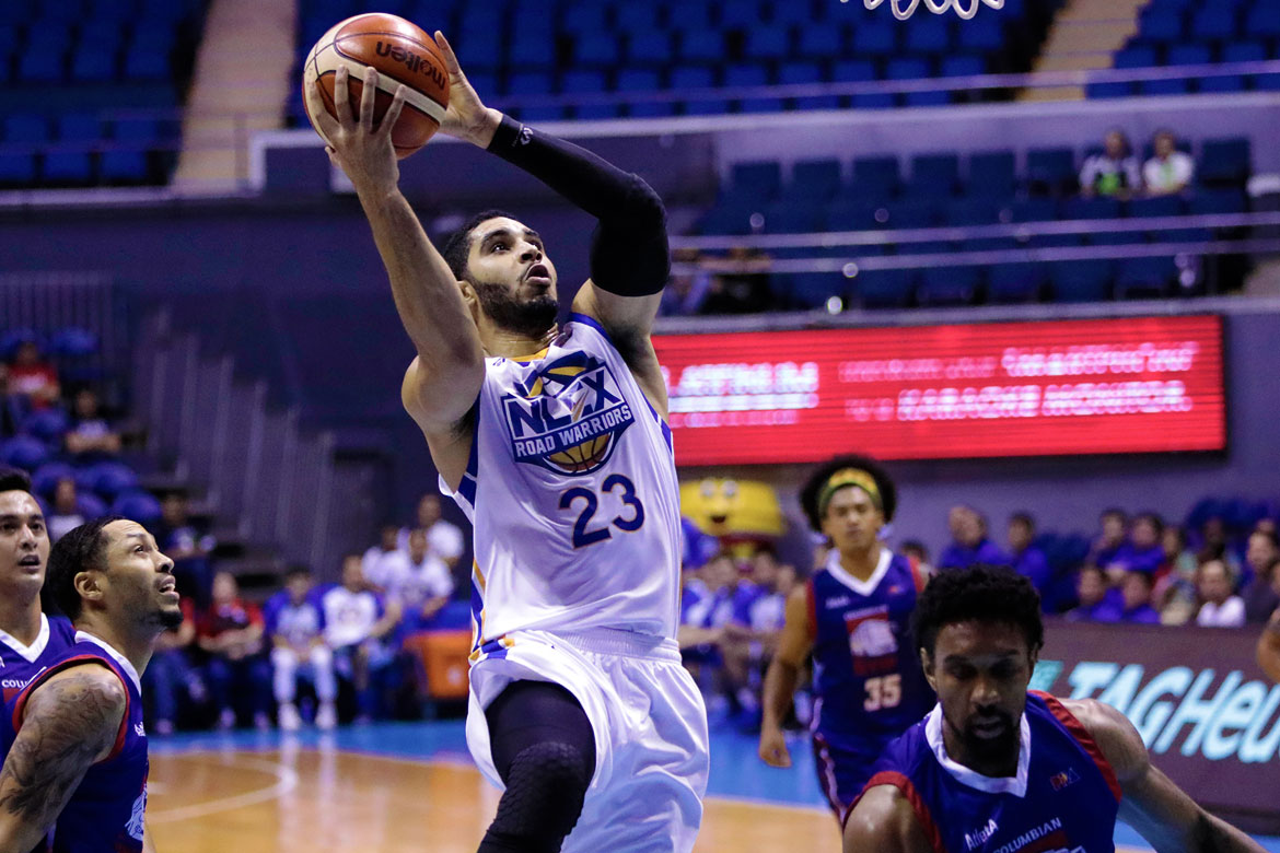 Tiebreaker Times Even with 30-20 game, returning Aaron Fuller far from satisfied Basketball News PBA  PBA Season 43 NLEX Road Warriors Aaron Fuller 2018 PBA Governors Cup