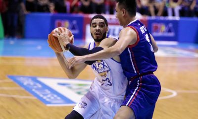 Tiebreaker Times Aaron Fuller, NLEX crash Columbian for 3rd win Basketball News PBA  PBA Season 43 NLEX Road Warriors Larry Fonacier Kenneth Ighalo Jojo Lastimosa Johnedel Cardel Jerramy King Columbian Dyip Akeem Wright Aaron Fuller 2018 PBA Governors Cup