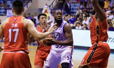 Tiebreaker Times Defiant Olu Ashaolu on injury: 'I'm not gonna let something minor stop me' Basketball News PBA  PBA Season 43 Olu Ashaolu NLEX Road Warriors 2018 PBA Governors Cup