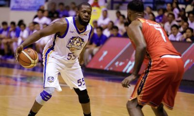 Tiebreaker Times NLEX gives NorthPort rude welcome for second straight win Basketball News PBA  Rashad Woods Pido Jarencio PBA Season 43 Paolo Taha Olu Ashaolu Northport Batang Pier NLEX Road Warriors Mo Tautuaa Mac Tallo Larry Fonacier Kenneth Ighalo JR Quinahan Jojo Lastimosa 2018 PBA Governors Cup
