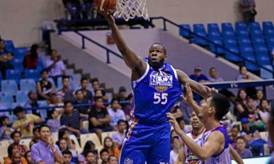 Tiebreaker Times Olu Ashaolu embodies warrior spirit as he fights through knee injury for NLEX Basketball News PBA  PBA Season 43 Olu Ashaolu NLEX Road Warriors Jojo Lastimosa 2018 PBA Governors Cup