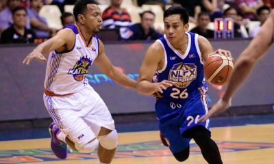 Tiebreaker Times With a bit of 'gigil', Mac Tallo gets one over former team TNT Basketball News PBA  PBA Season 43 NLEX Road Warriors Mac Tallo 2018 PBA Governors Cup