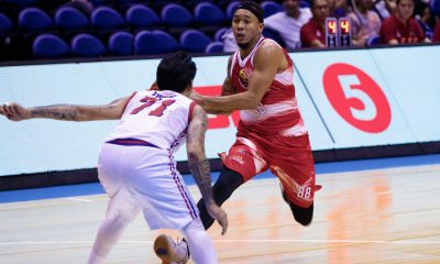 Tiebreaker Times Calvin Abueva not bothered by off-the-bench role in debut Basketball News PBA  Phoenix Fuel Masters PBA Season 43 Calvin Abueva 2018 PBA Governors Cup