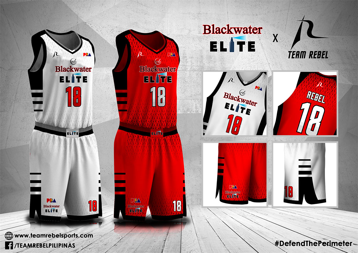 Tiebreaker Times Blackwater to debut new-look Branded Content PBA  Team Rebel Pilipinas PBA Season 43 Blackwater Elite 2018 PBA Governors Cup