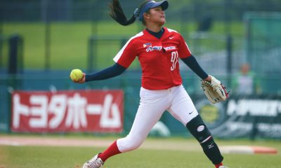 Tiebreaker Times Blu Girls bow out of contention News Softball  Sierra Lange RP Blu Girls Randy Dizer New Zealand (Softball) Lyca Basa Arianne Vallestero 2018 Women's Softball World Championship