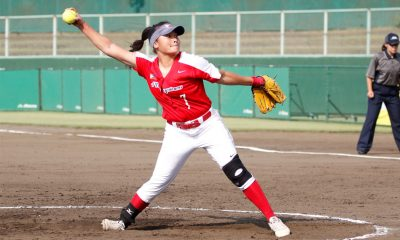 Tiebreaker Times Blu Girls overwhelmed by USA News Softball  USA (Softball) RP Blu Girls Mia Macapagal Kaith Jalandoni Hailey Decker Arianne Vallestero Ann Antolihao 2018 Women's Softball World Championship