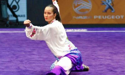 Tiebreaker Times Agatha Wong successfully defends SEA Games taijiquan title 2019 SEA Games News Wushu  Agatha Wong 2019 SEA Games - Wushu 2019 SEA Games
