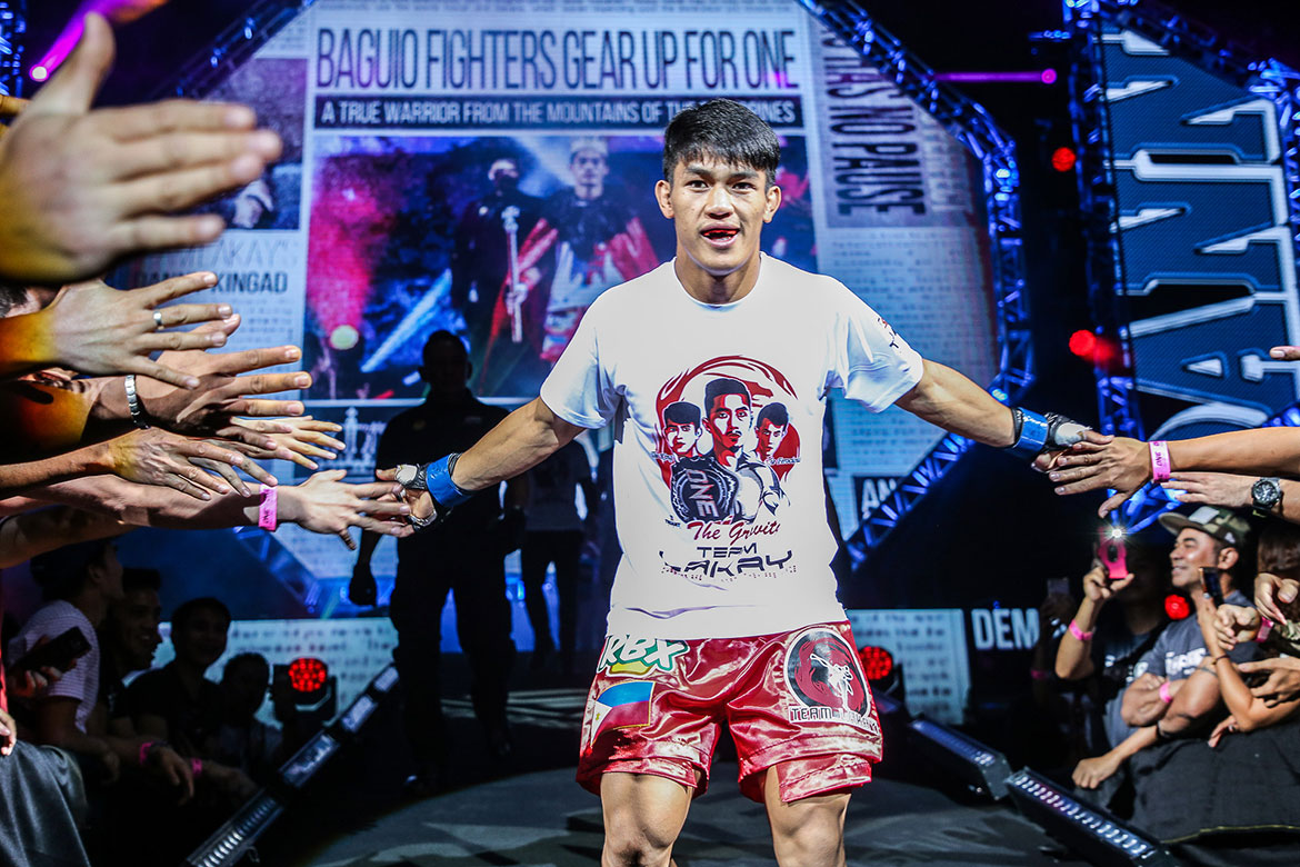 Tiebreaker Times Danny Kingad's troubled past led him to Team Lakay, Mark Sangiao Mixed Martial Arts News ONE Championship  Team Lakay ONE: Conquest of Heroes Danny Kingad