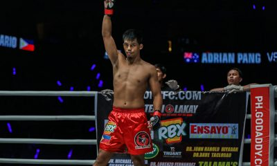 Tiebreaker Times Honorio Banario to open Grand Prix campaign in Manila Mixed Martial Arts News ONE Championship  Team Lakay ONE: Hero's Ascent Lowen Tynanes Honorio Banario